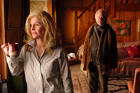 Julie Christie and Gordon Pinsent look out onto an uncertain future.