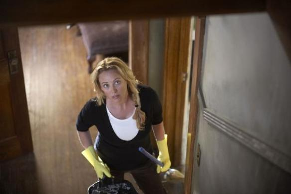 Even Virginia Madsen doesn't like spring cleaning.
