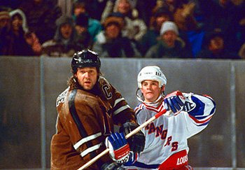 Russell Crowe on ice.
