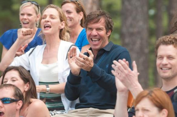 Dennis Quaid is hyeah! (Uma Thurman too)