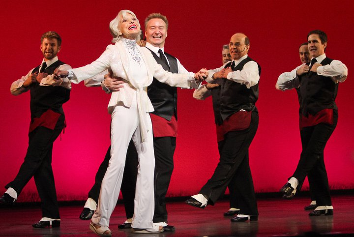 Life is a musical number when you're Carol Channing
