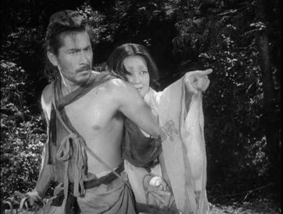 Toshiro Mifune gets the point.