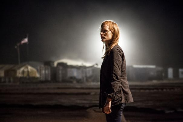 The halo around her head presages Jessica Chastain making box office history.