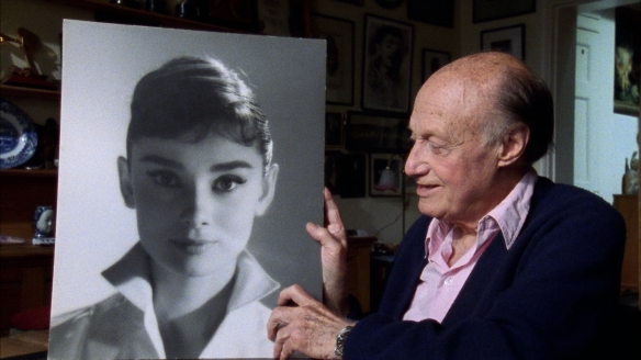 An aging cameraman can still appreciate the timeless beauty of a young Audrey Hepburn.