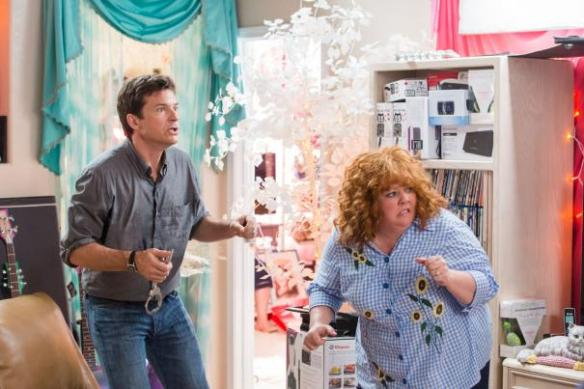 Jason Bateman and Melissa McCarthy see the critics approaching with torchs and pitchforks.