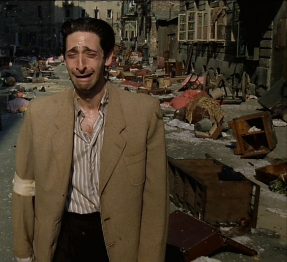 Adrien Brody realizes he may never get a role as juicy as this one ever again.