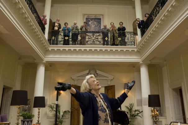Professor McGonagall at the Hogwart's 50th Class Reunion.
