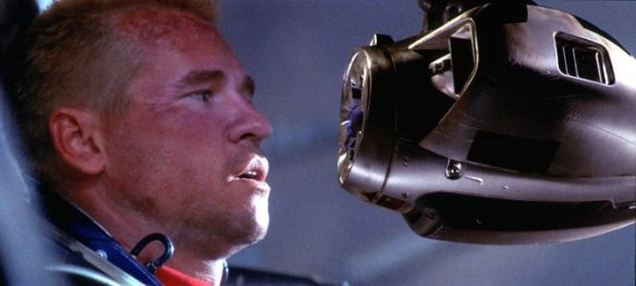 Val Kilmer gets a little face time with a killing machine.