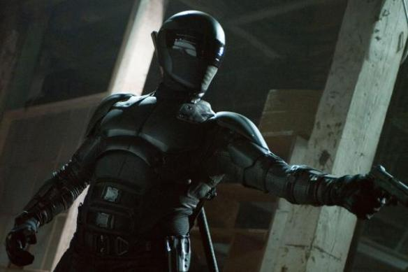 OK, Snake Eyes looks really cool, I'll give you that.