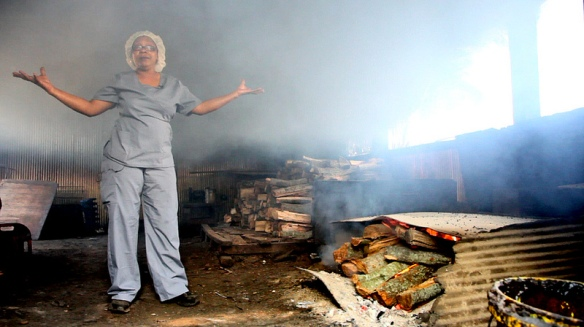 Nothing says Southern cooking better than barbecue and few do barbecue better than Helen Sanders.