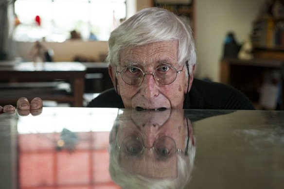 Tomi Ungerer knows how to take a bite out of life.