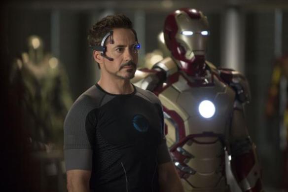 Robert Downey Jr. mans the Iron Man customer service phone line.