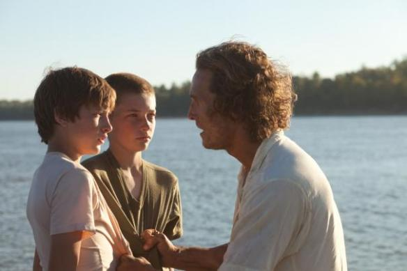 Matthew McConaughey explains to his protégés that the secret to getting chicks is taking off your shirt.