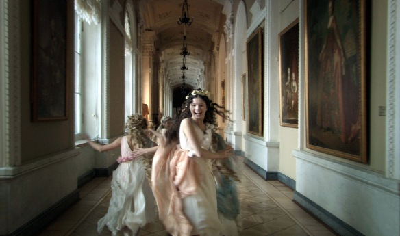 Ghosts in the Hermitage.