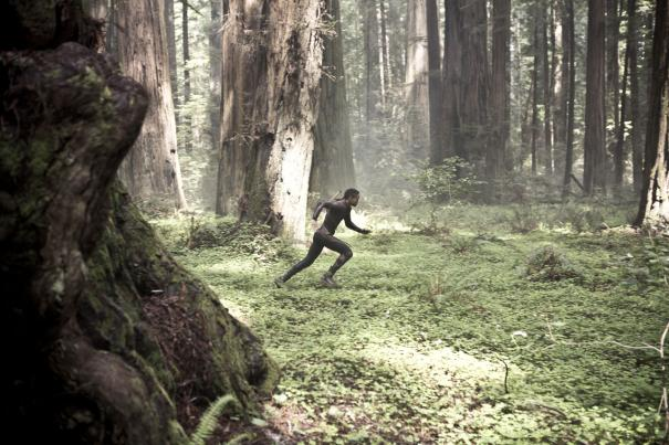 Jaden Smith tries to escape a herd of angry  film critics.