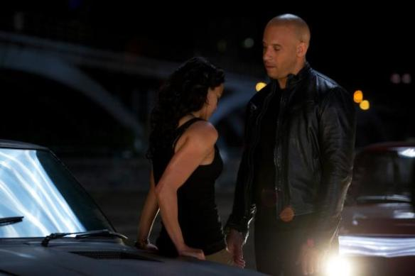 Vin Diesel is heartbroken to discover that Michelle Rodriguez looks better in a wifebeater than he does.