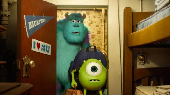 Mike Wazowski gets an eyeful.