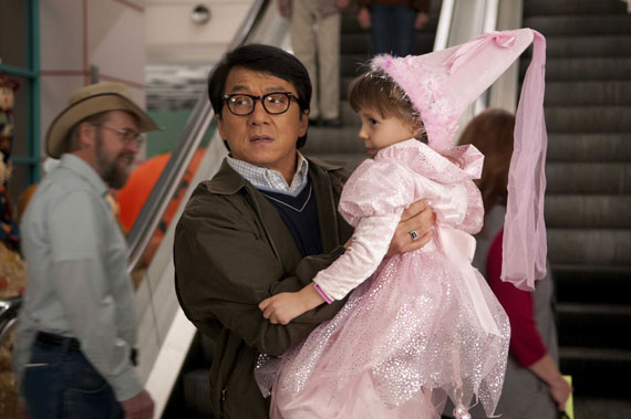 Jackie Chan's lost his nunchuks.