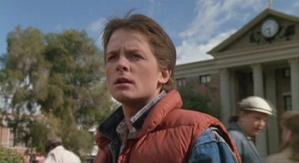 Michael J. Fox is going back in time.