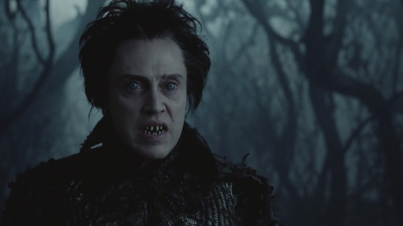 Christopher Walken really needs a new dental plan.