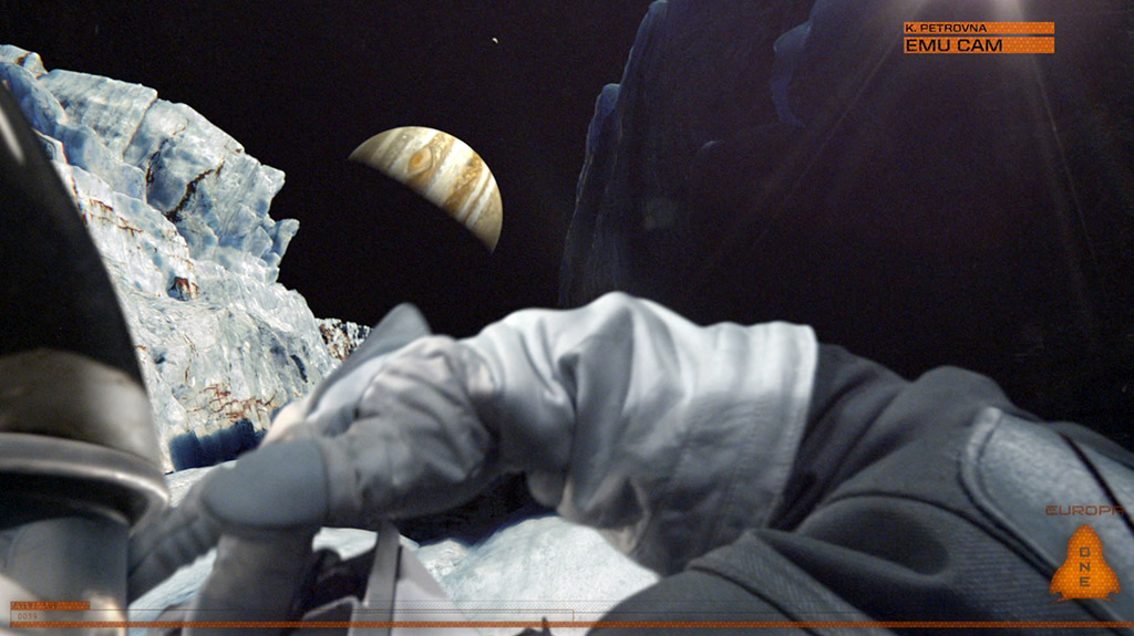 One of the many stunning visuals from Europa Report.