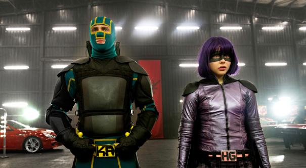 Kick-Ass and Hit Girl are nonplussed to discover that they're not getting action figures made after all.