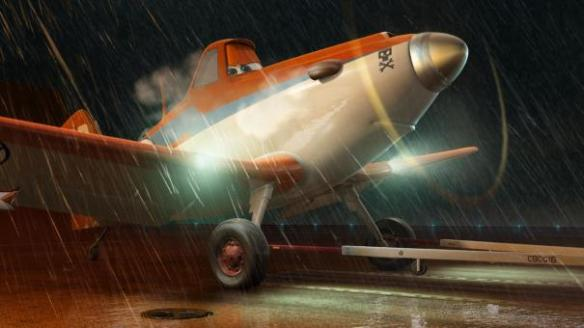 The rain in Planes falls mainly o the...well, er, planes.
