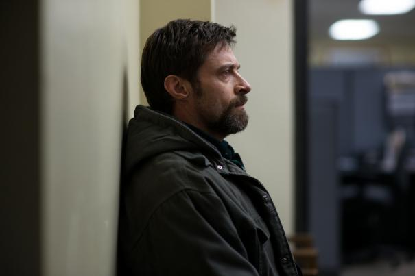 Hugh Jackman contemplates something truly awful.
