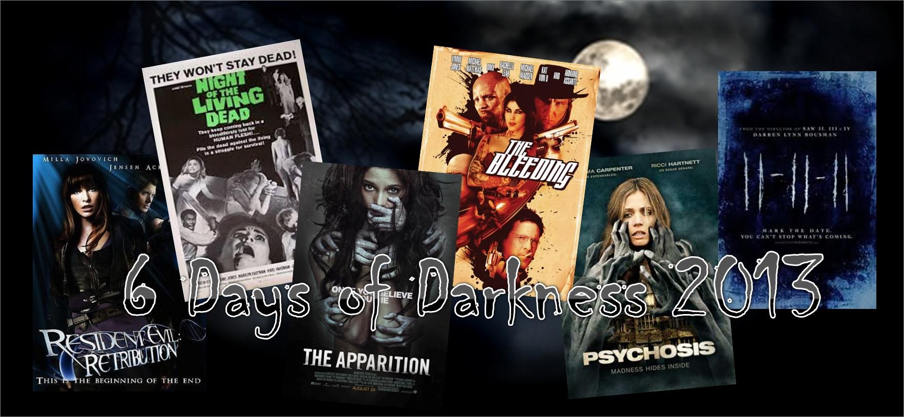 6 Days of Darkness 2013