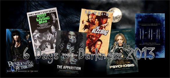 6 Days of Darkness 2013