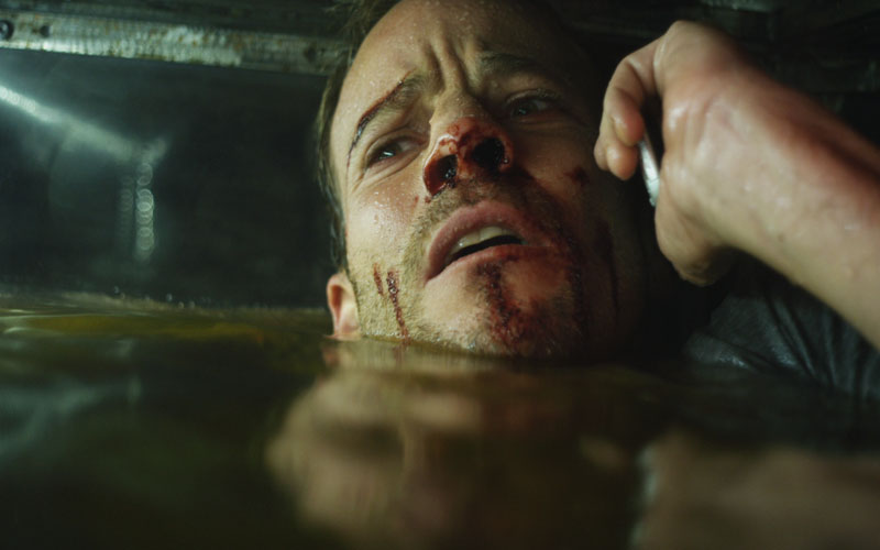 Stephen Dorff is having a very bad day.
