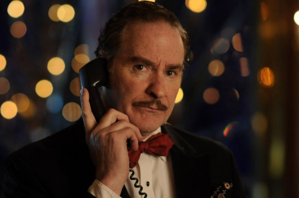 Kevin Kline wants you to know this is a PRIVATE phone conversation and listening in on your part is very rude.