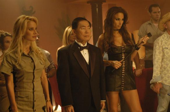 George Takei wonders how he got into this movie.
