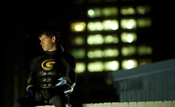 Even a superhero needs an occasional break.