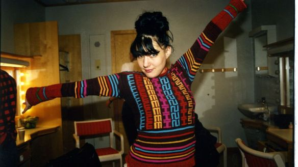 The amazing Kathleen Hanna.