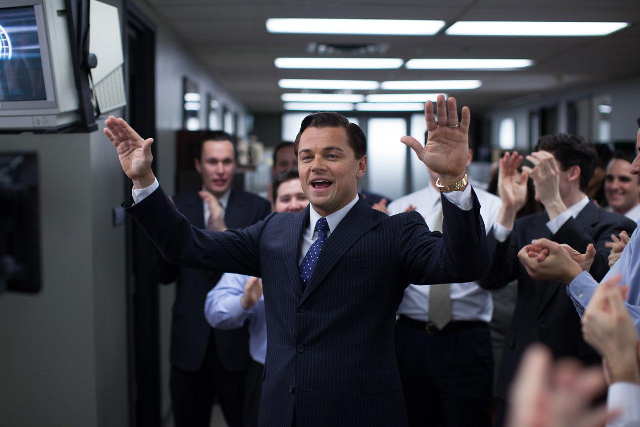 Leonardo di Caprio knows he's getting an Oscar nomination.