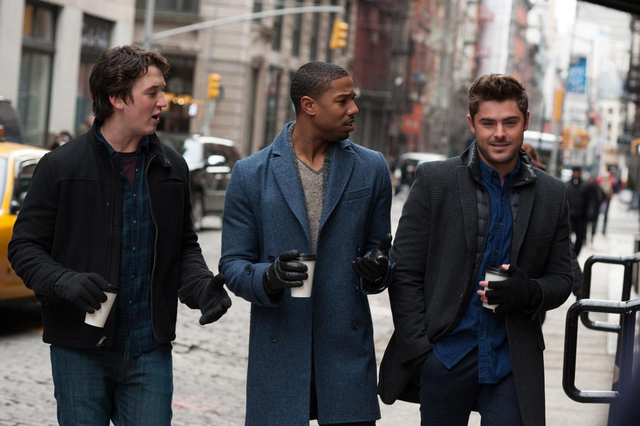 Zac Efron is confident he's the prettiest one of the trio.