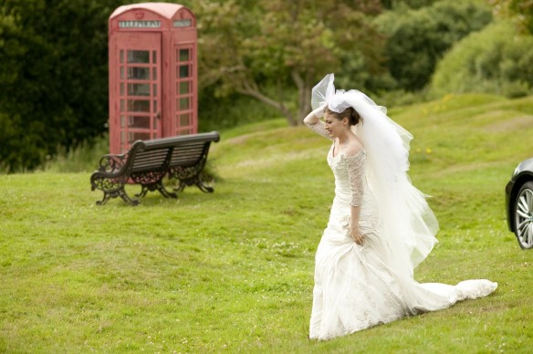 The runaway decoy bride.