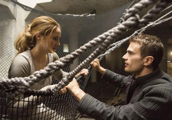 Theo James has caught Shailene Woodley in his net.