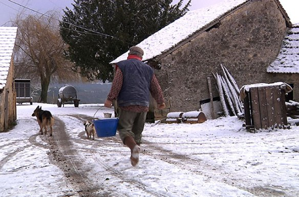 On the farm, the work doesn't stop just because it's winter.