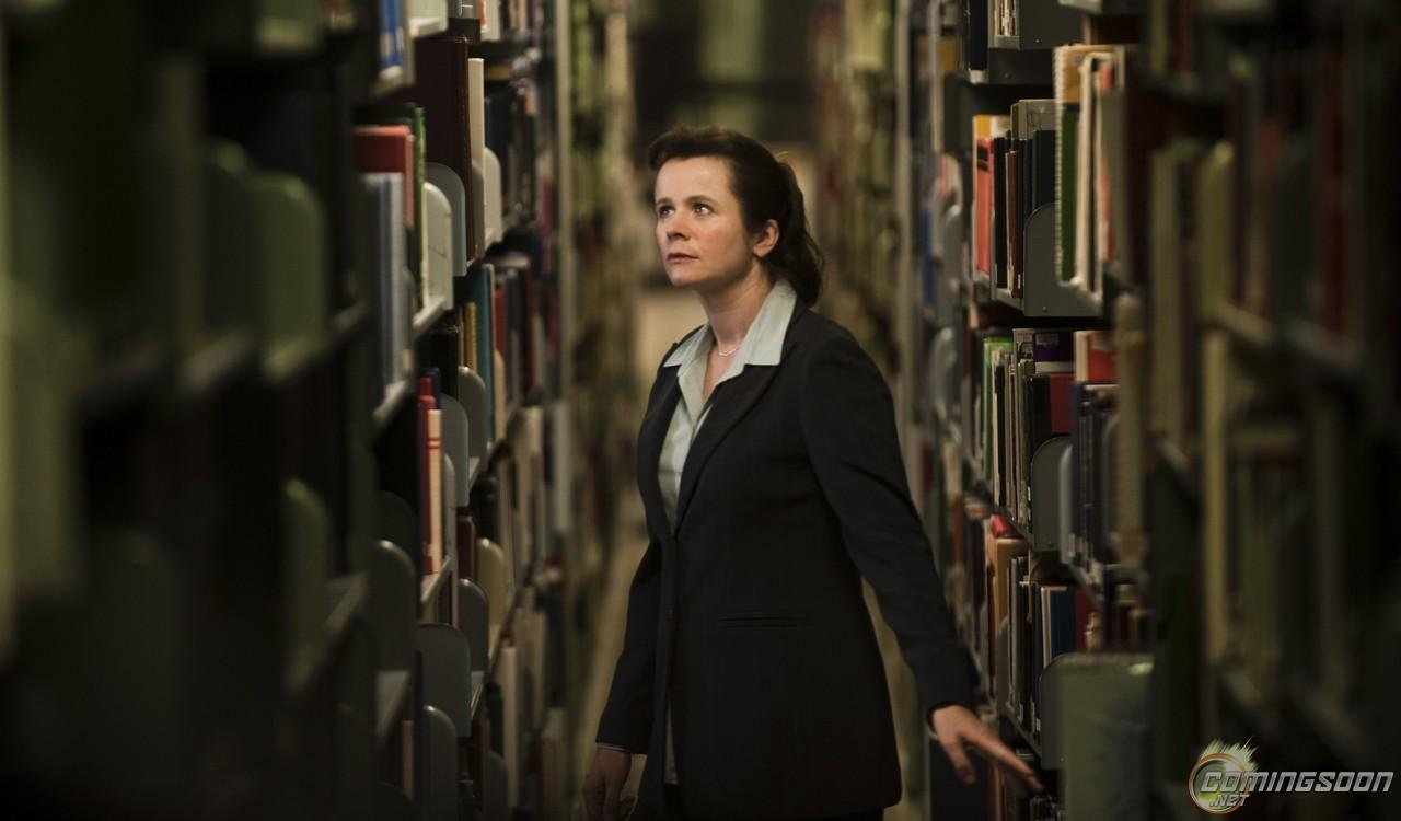 Emily Watson finds the Lost Ark of the Covenant.