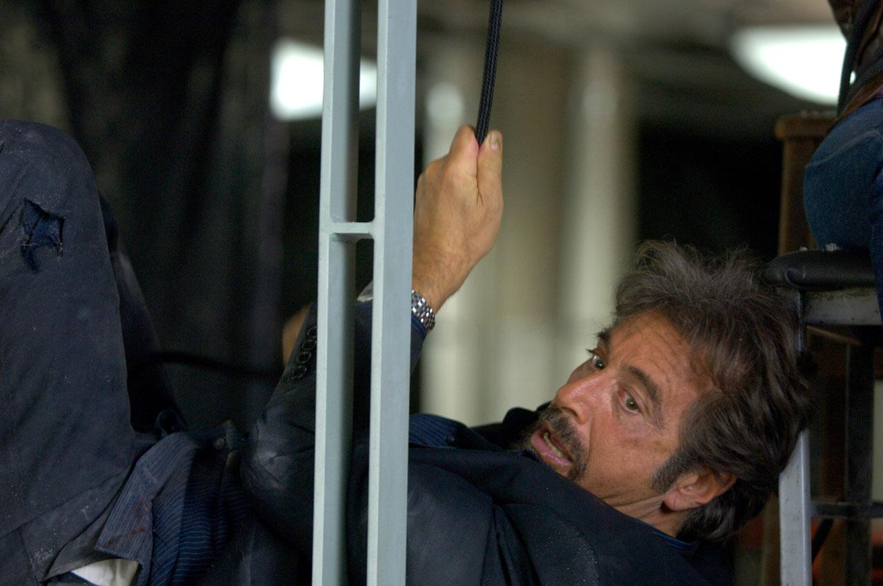 Al Pacino looks thrilled to be in this movie.