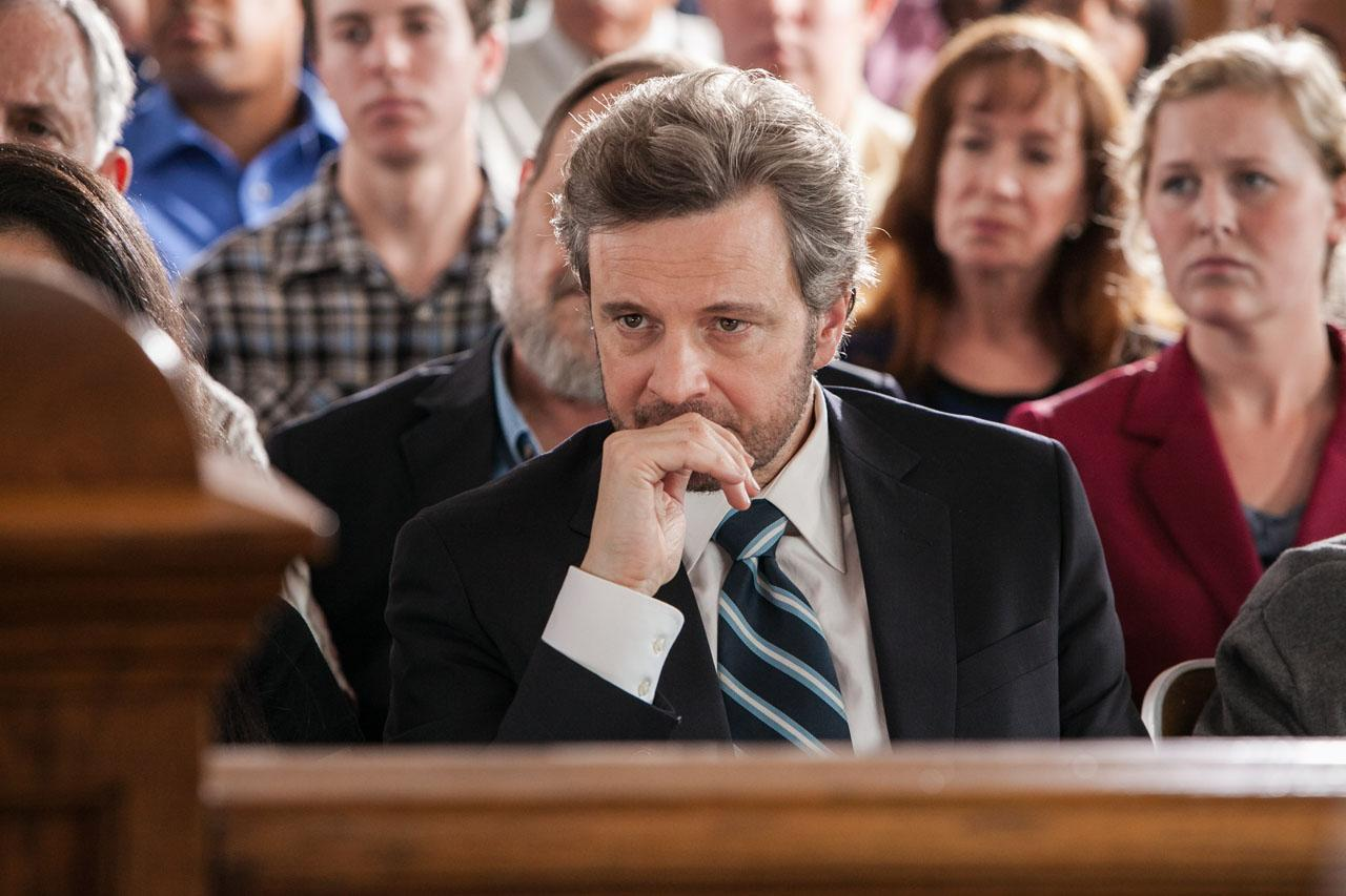 Colin Firth looks to untie the devil's knot.