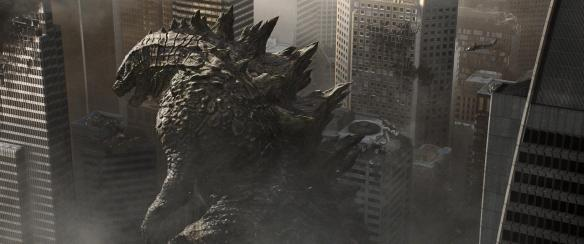 Oh no, there goes San Francisco, go go Godzilla!