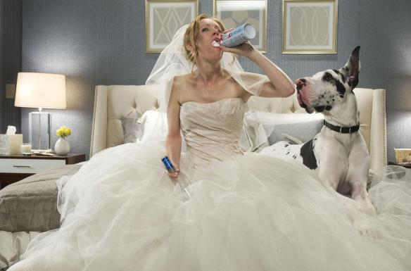 Leslie Mann knows how to binge.
