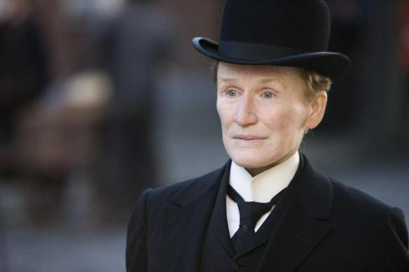 Glenn Close shows off her dapper side.