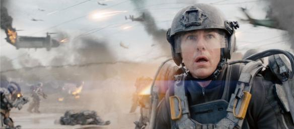 Tom Cruise sees the initial box office numbers.