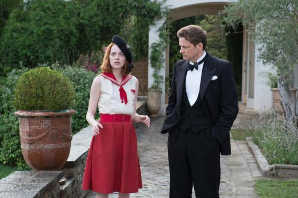 Emma Stone is shocked to discover she's co-starring with an Oscar winner.