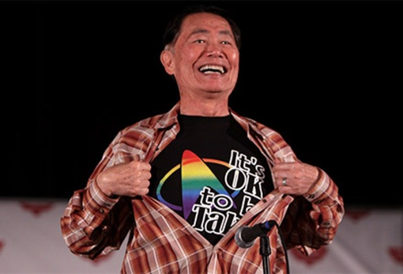 It's always a great day to be OK to be Takei!