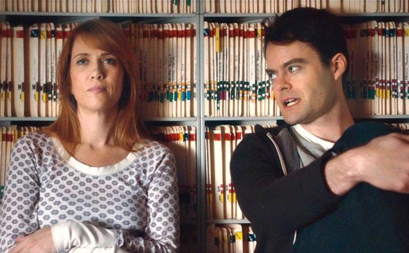 Kristen Wiig and Bill Hader reminisce about their SNL days.